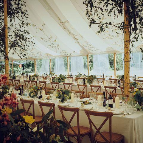 Rachel Cecil Gourney Jake McConville Wedding - de Gournay Wallpaper