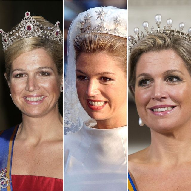 de mooiste tiara's en diademen van koningin máxima