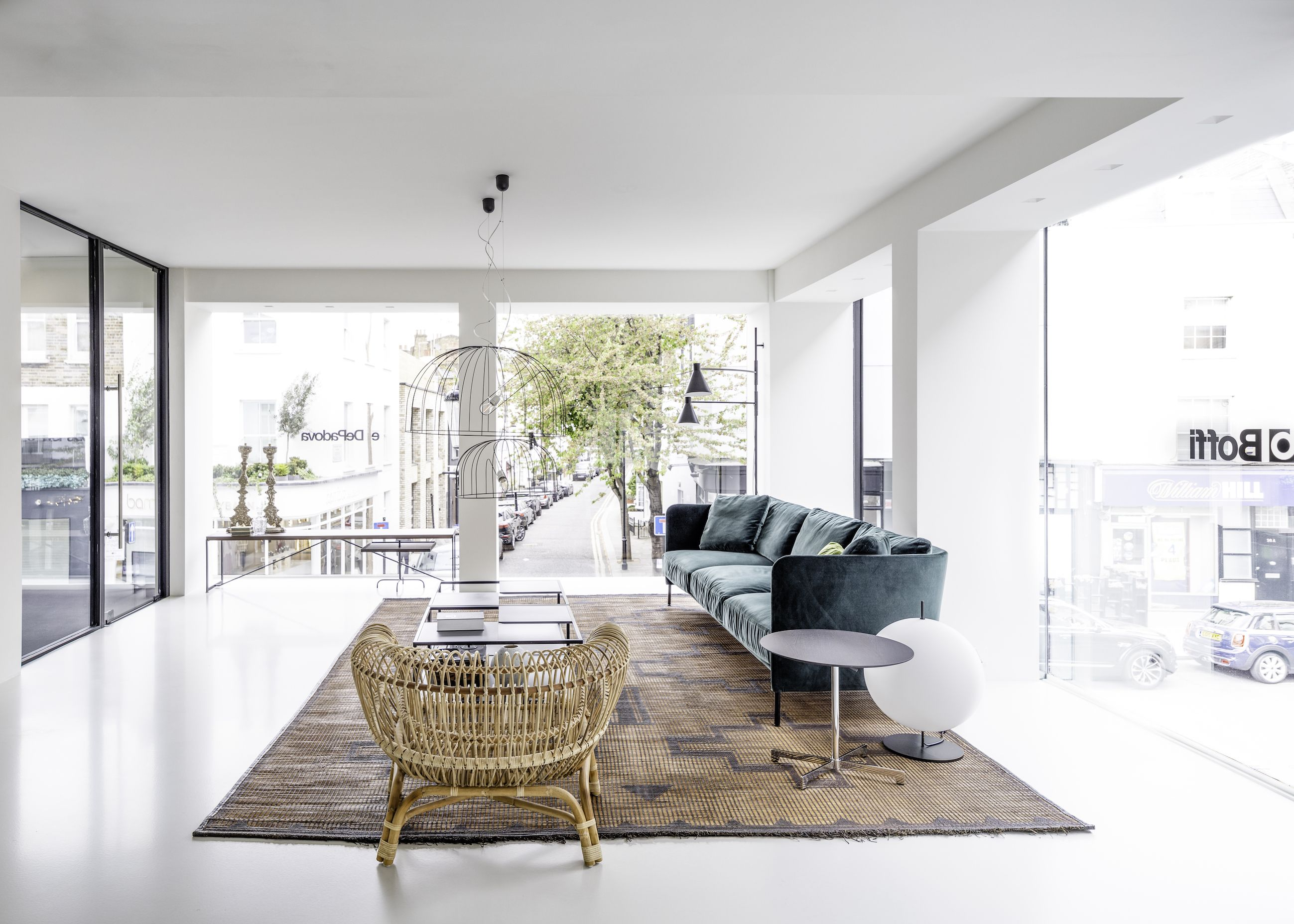DePadova opens penthouse-like showroom in London's Chelsea