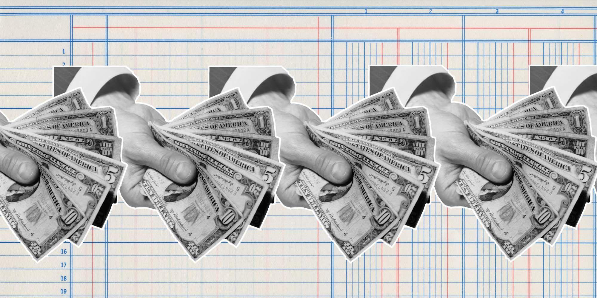 De Rekening, geld
