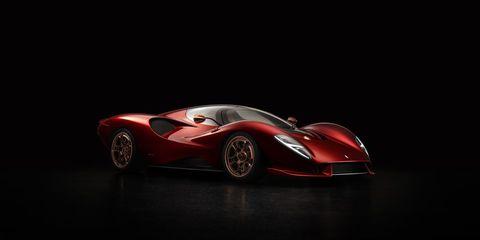 Race car, Vehicle, Car, Sports car, Red, Automotive design, Supercar, Coupé, Sports prototype, Performance car,