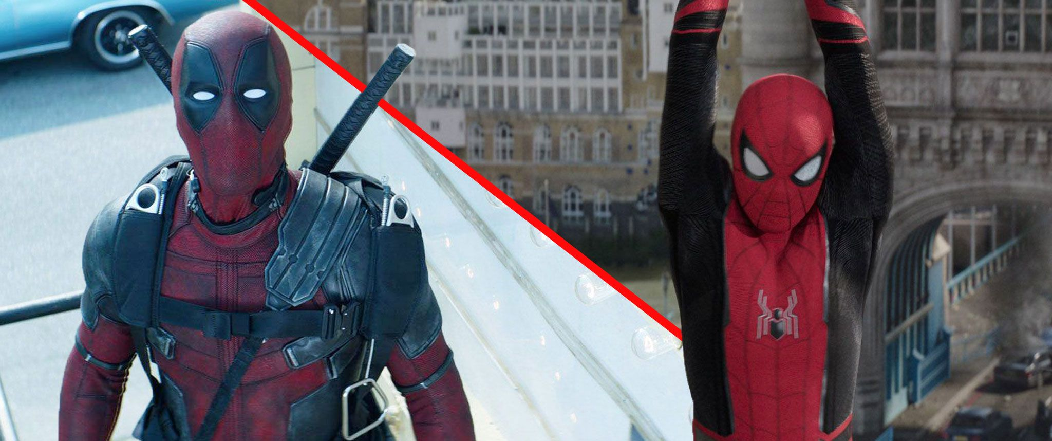 Ryan Reynolds reacts to suggestions Spiderman and Deadpool should team up for a movie