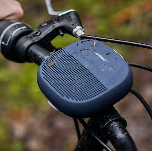bose speaker outdoors bike