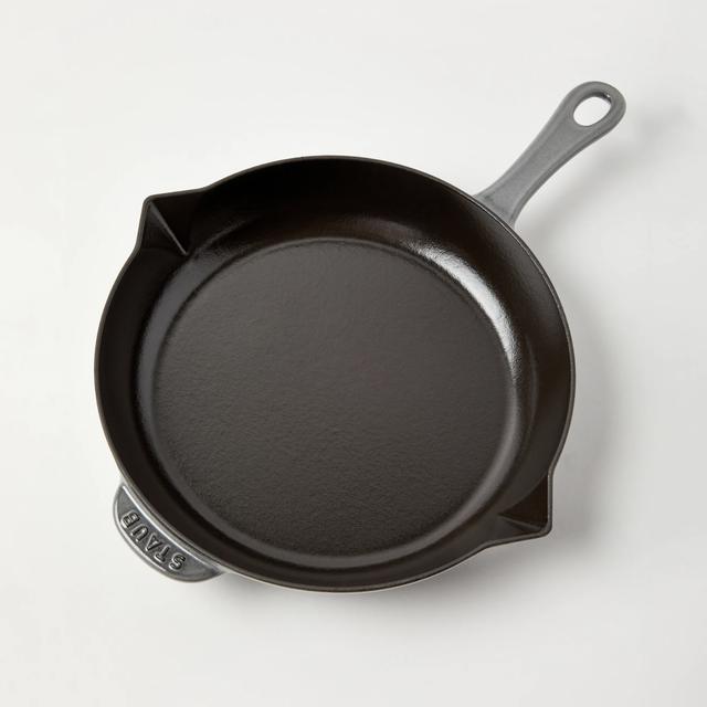 a cast iron pan