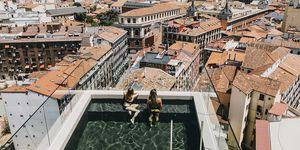 Bañarse en el cielo de Madrid es posible