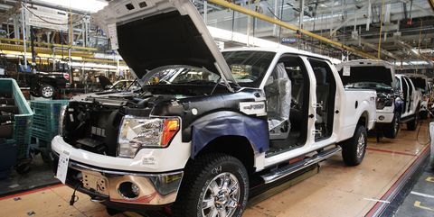 Ford Rouge F-150 Truck plant