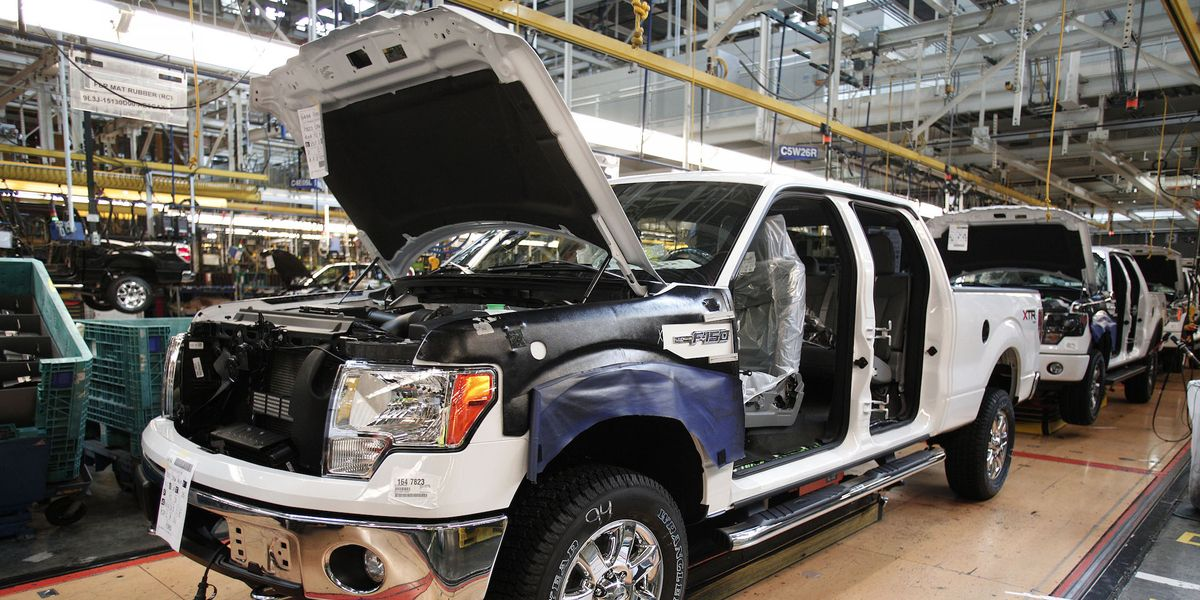 Ford's River Rouge Complex Still Humming, Cranking Out F-150s
