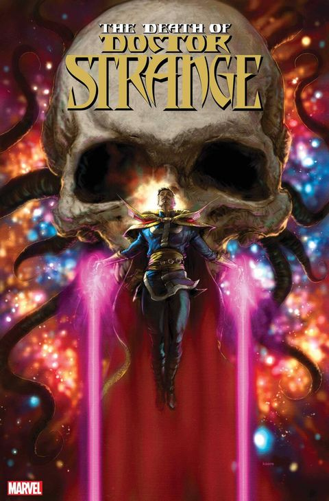 death of doctor strange, marvel comics