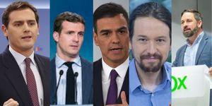 Atresmedia convoca un debate a cinco para las elecciones generales del 28 de abril.