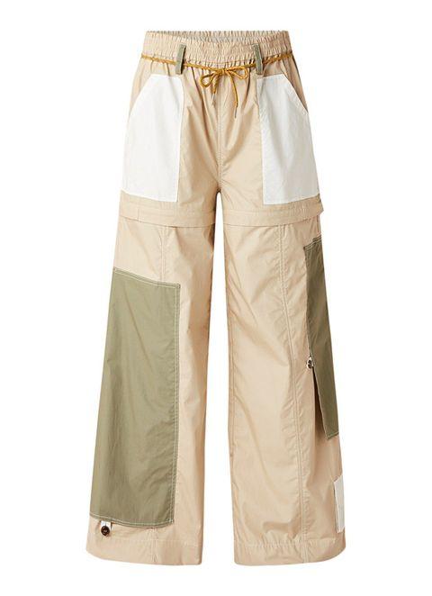 grote broek modetrend wijde broek pantalon cargo broek microtrend 2019