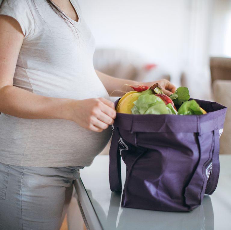 Dieta sana para no engordar en el embarazo