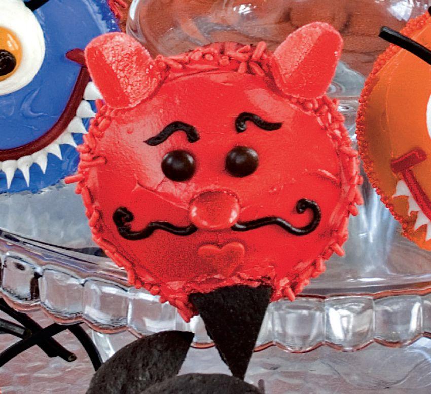 Debonair Devil Cupcake