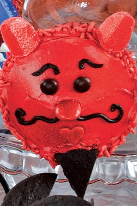 debonair devil cupcakes