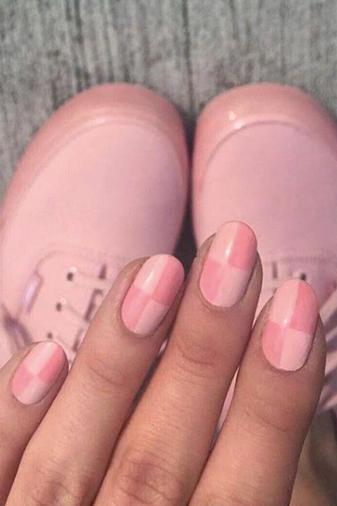 deborah lippmann pink manicure