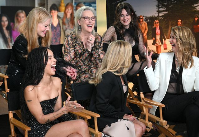 The Big Little Lies cast celebrate Meryl Streep's 70th birthday