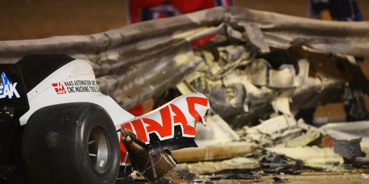 Halo Does its Job in Saving Romain Grosjean in F1 Bahrain Grand Prix Crash