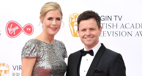 Declan Donnelly and Ally Astall