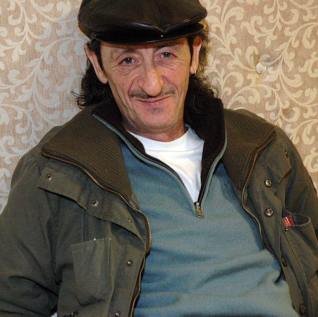 December 18, 2006. Madrid, Spain. Presentation of the new serie by Telecinco 'La que se avecina'. Portrait of Eduardo Gómez, actor.