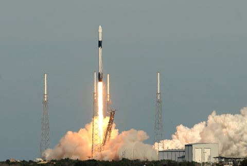 SpaceX Launches Resupply Mission To Space Station