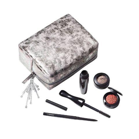 kerst cadeau beautyset giftset m·a·c wow factor eye kit   limited edition make upset