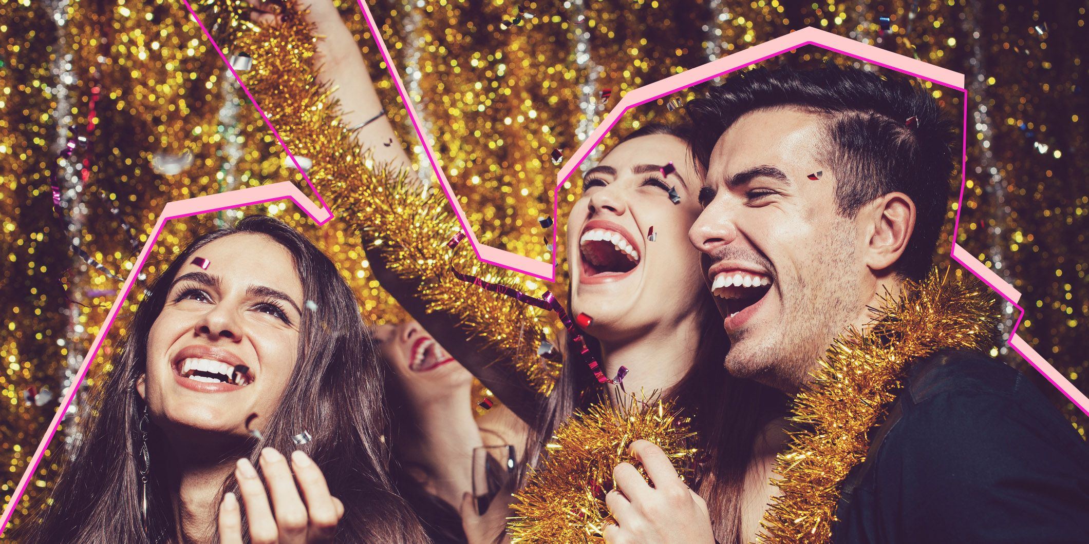 Party and confetti voor decembermaandhoroscoop