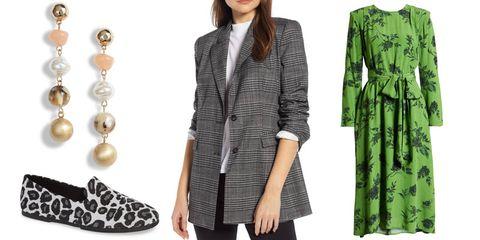 Clothing, Outerwear, Coat, Green, Blazer, Overcoat, Sleeve, Jacket, Trench coat, Formal wear,