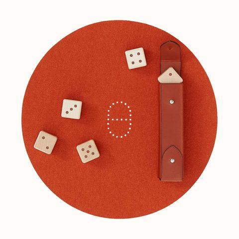 hermés 愛馬仕居家時髦玩具小物 declick 骰子組