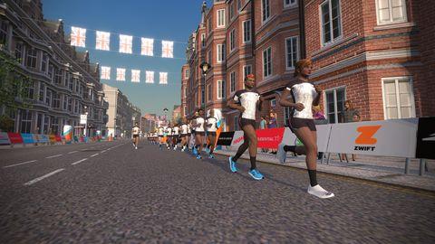 Running, Recreation, Outdoor recreation, Town, Long-distance running, Athlete, Marathon, Individual sports, Street, Pedestrian,