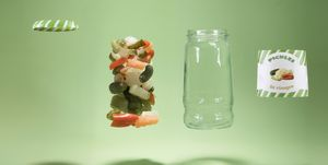 Deconstructed pickle jar