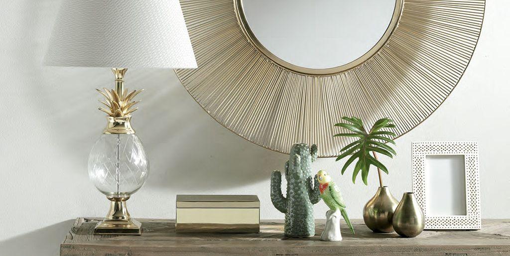 Decora tu casa con el corte ingl s los objetos de decoraci n dorados m s actuales - Decoracion vitoria ...