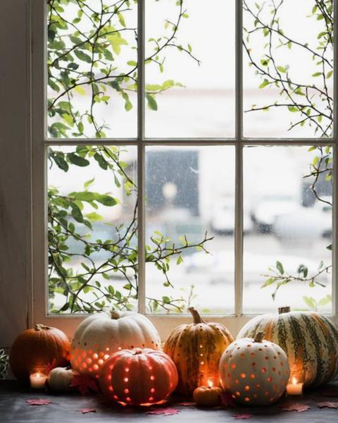 Halloween decoración