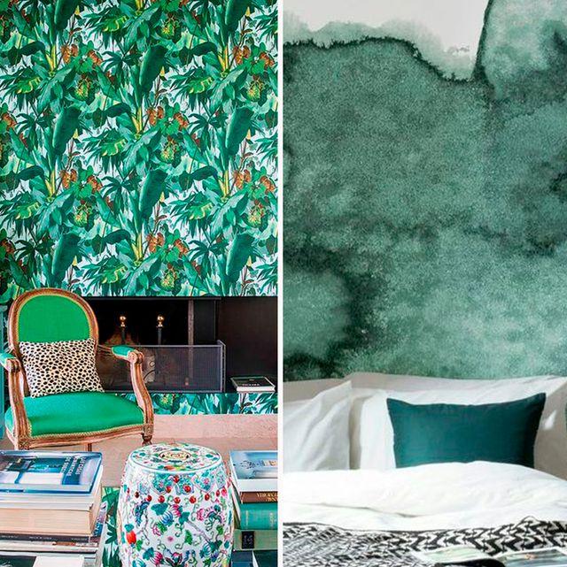 ideas para decorar con color verde