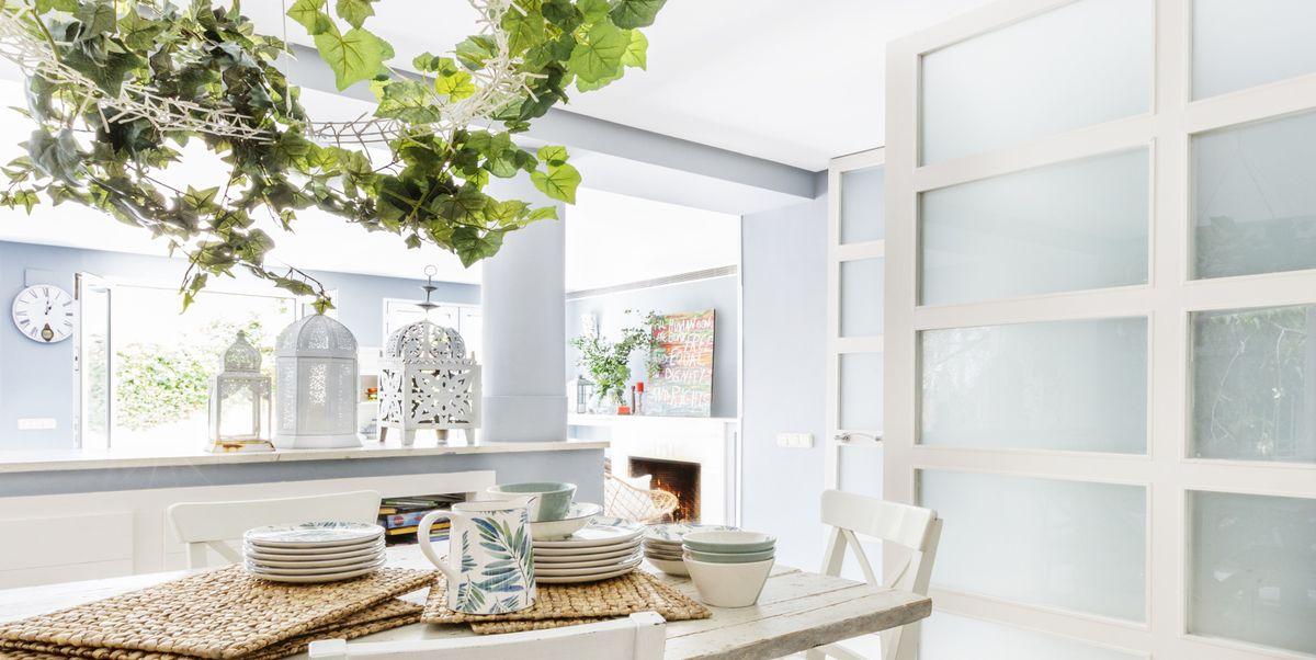 10 ideas para decorar con guirnaldas vegetales