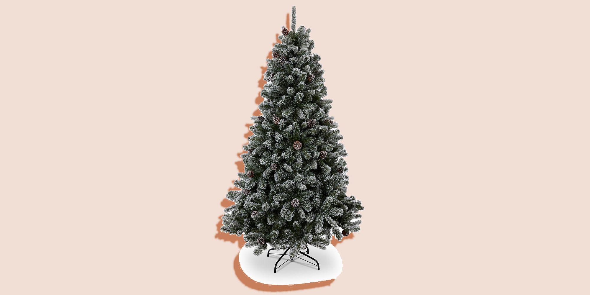 pre decorated christmas tree