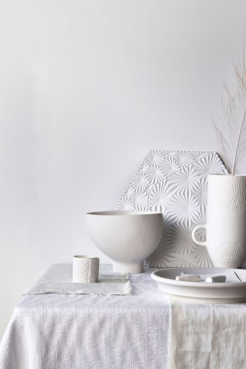 white, interior
