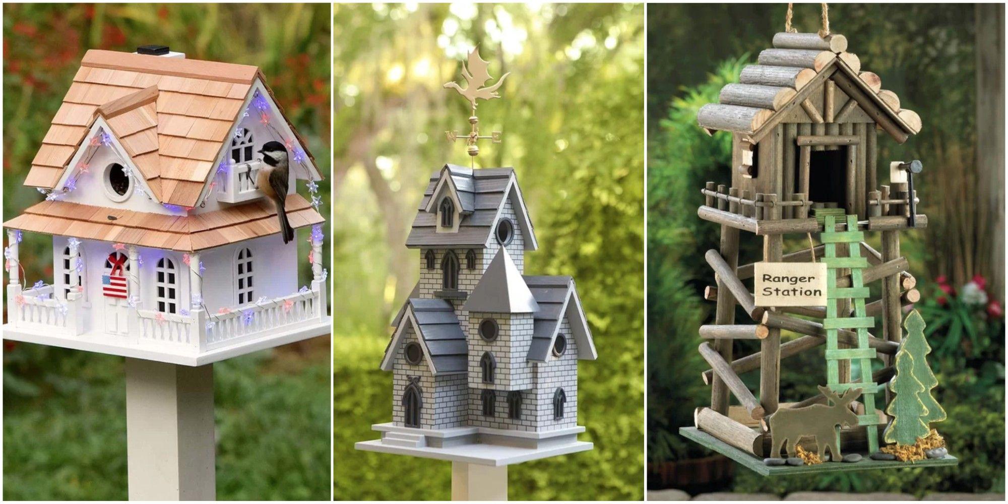 Awesome Decorative Birdhouses