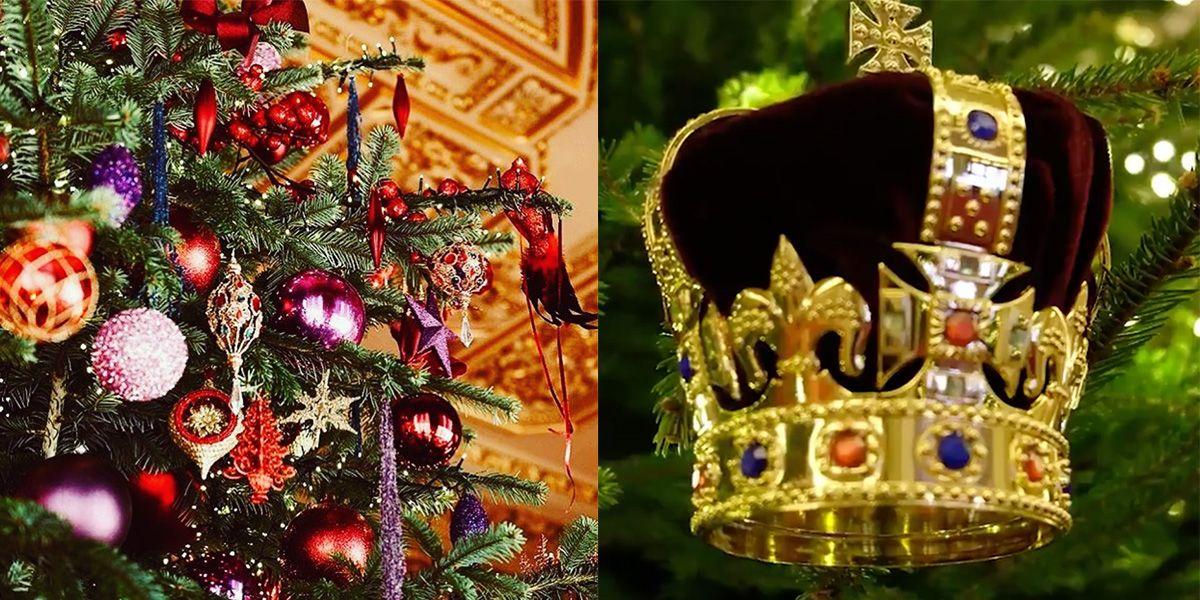 Decorazioni Natale Buckingham Palace