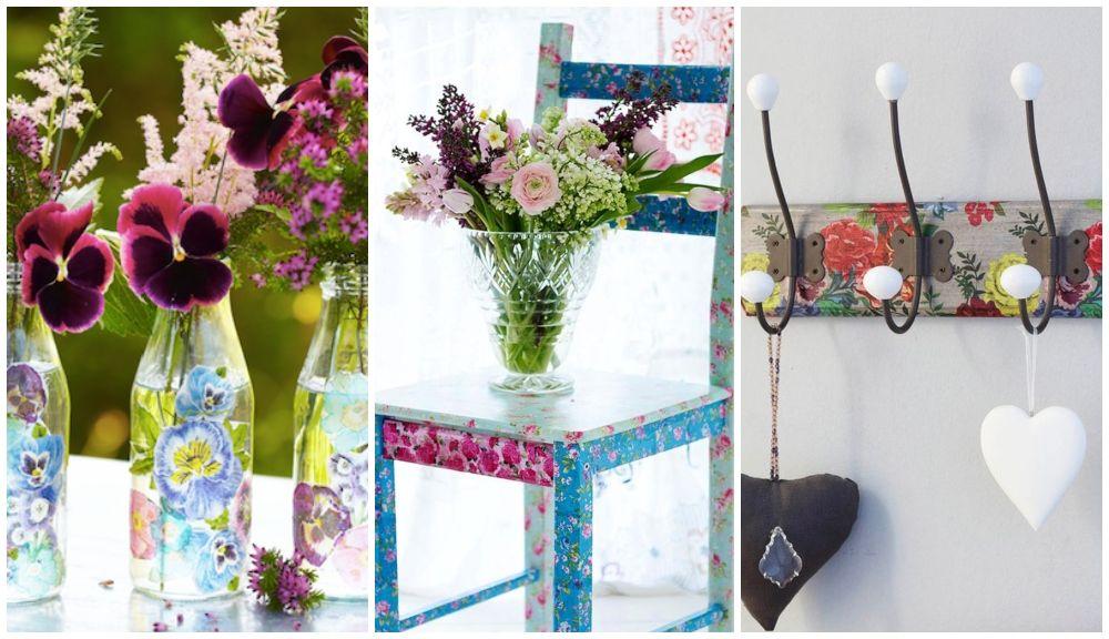Decoupage Furniture Ideas 7 stylish decoupage ideas to give