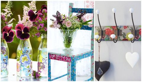 Decoupage Furniture Ideas 7 Stylish Decoupage Ideas To Give Old