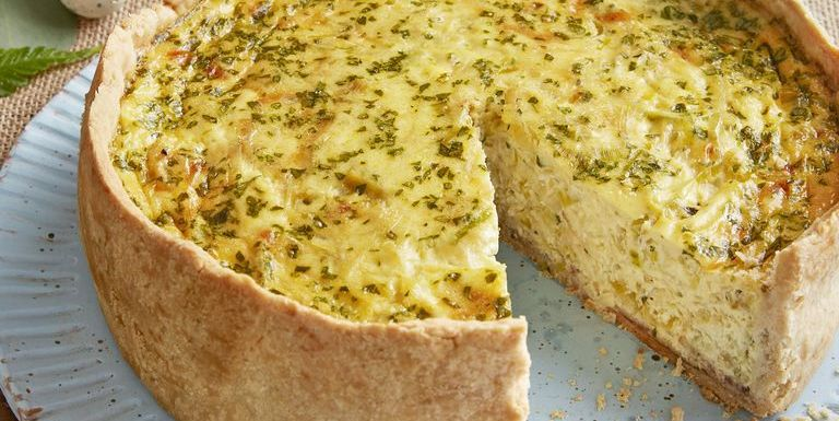How To Make Deep Dish Bacon And Leek Quiche Best Deep Dish Bacon And Leek Quiche Recipe