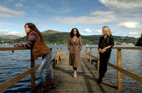 Anna Friel denies new ITV drama Deep Water is