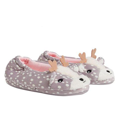 M&S deer slippers