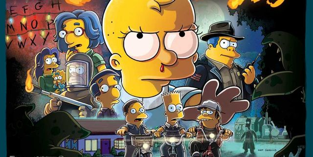 'The Simpsons' Will Go 'Stranger Things' for Its 666th Episode