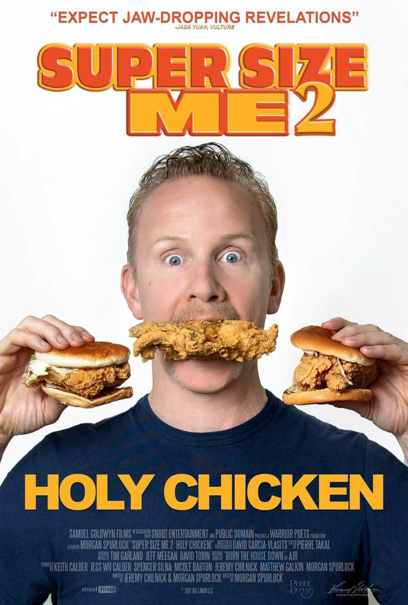 The Release Date For Morgan Spurlock's 'Super Size Me 2: Holy Chicken!' Has Been Announced