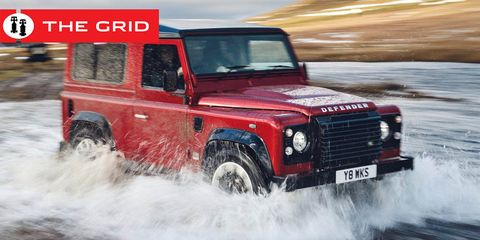 The Next Land Rover Defender Will Come To The Us