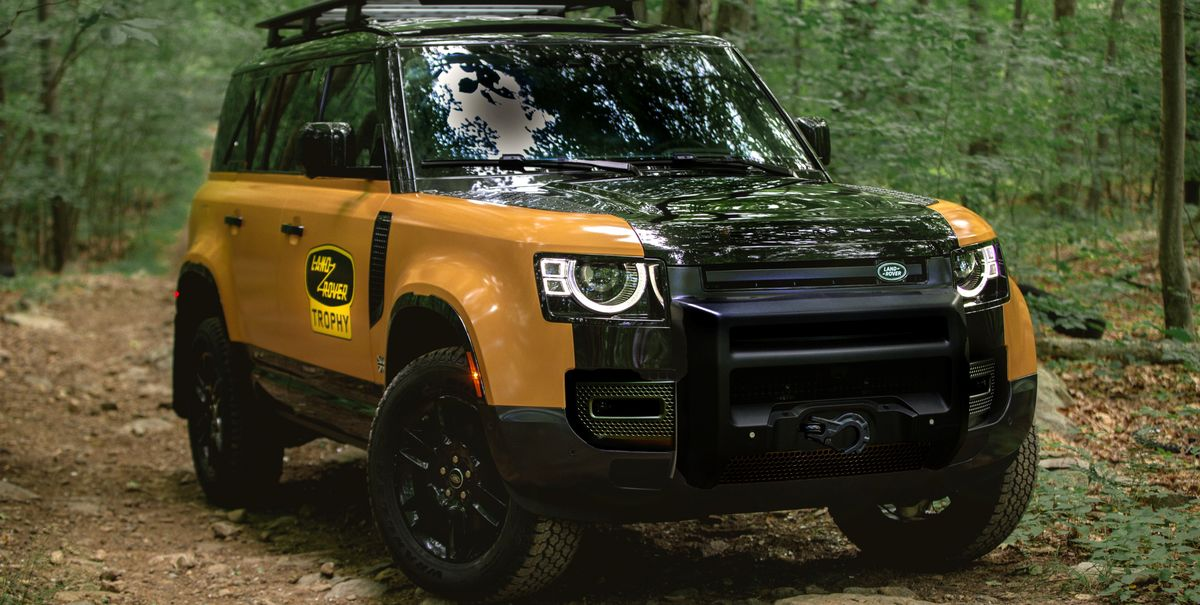 Land Rover Defender Trophy Edition Pays Tribute to the Brand's Legacy