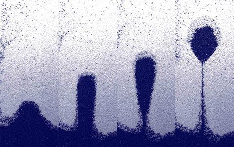 Blue, Water, Text, Sky, Font, Cloud, Electric blue, Asphalt, Pattern, Road surface,