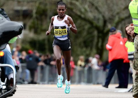 Worknesh Degefa of Ethiopia Is the Boston Marathon Women's Winner