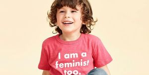J.Crew Prinkshop feminist shirt for boys