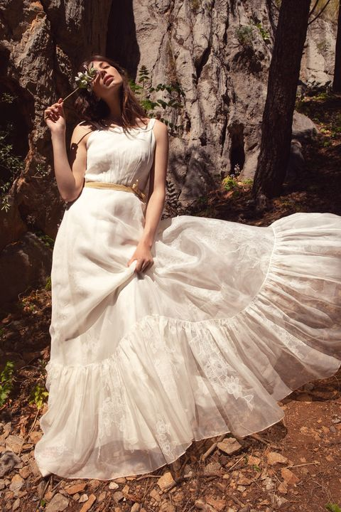 Gown, Wedding dress, Dress, Clothing, Bridal clothing, Photograph, Bridal party dress, Bride, Shoulder, Beauty,